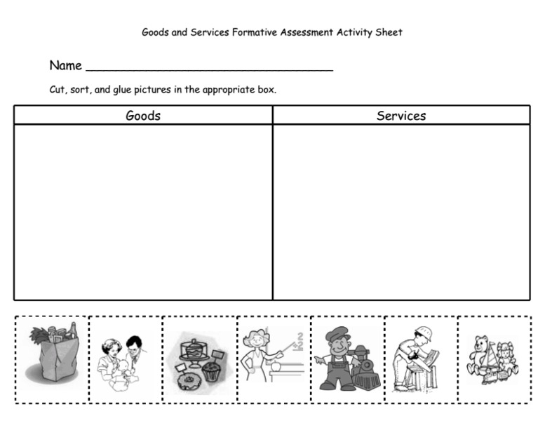Goods And Services Worksheets. Worksheets. Releaseboard