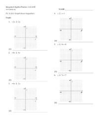 Printables. Graphing Inequalities Worksheet. Ronleyba ...