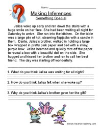 All Worksheets  Drawing Conclusions Worksheets Pdf ...