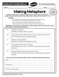 All Worksheets  Simile And Metaphor Worksheets ...