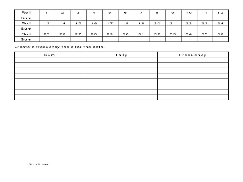 Worksheet Two Way Frequency Tables Worksheet Grass Fedjp Worksheet Study Site
