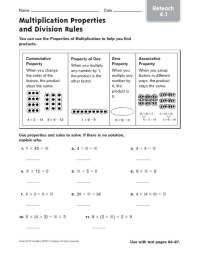 All Worksheets  Addition And Multiplication Properties ...