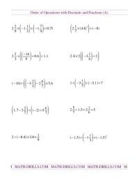 All Worksheets  Pemdas Integers Worksheets - Printable ...
