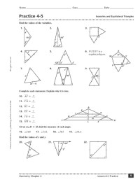 Printables. Isosceles And Equilateral Triangles Worksheet ...
