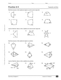 Area Of A Trapezoid Worksheet. Worksheets. Ratchasima ...