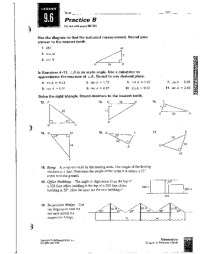 All Worksheets  Trigonometry Worksheets And Answers ...