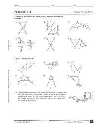 Proving Triangles Congruent Worksheet Answer Key ...