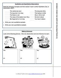 Printables. Observations And Inferences Worksheet ...