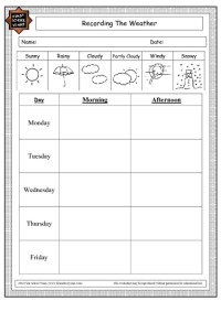 Weather Worksheets Second Grade. Weather. Best Free ...