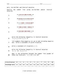 Number Names Worksheets  Interval Worksheets - Free ...