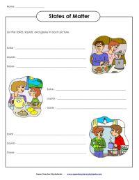 Matter Worksheets. Worksheets. Releaseboard Free printable ...