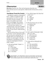 Printables. Identifying Story Elements Worksheet