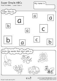 Number Names Worksheets  Abcd Worksheet