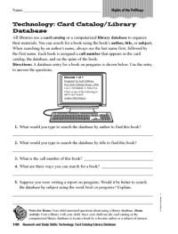 All Worksheets  Technology Worksheets - Printable ...