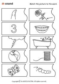 Printables. Th Sound Worksheets. Kigose Thousands of ...