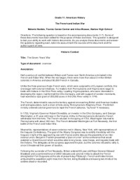 All Worksheets  French And Indian War Worksheets ...