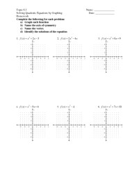 Printables. Solving Quadratic Equations Worksheet ...