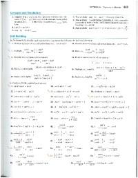 Grade 11 Trig Identities Worksheet - all categories ...