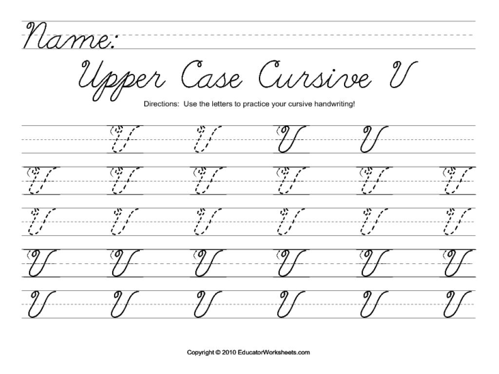 Cursive Y