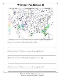 All Worksheets  Interpreting A Weather Map Worksheets ...