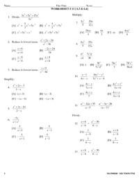 All Worksheets  Long Division Polynomials Worksheets ...
