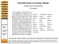 Classification Of Living Things Worksheet. Worksheets
