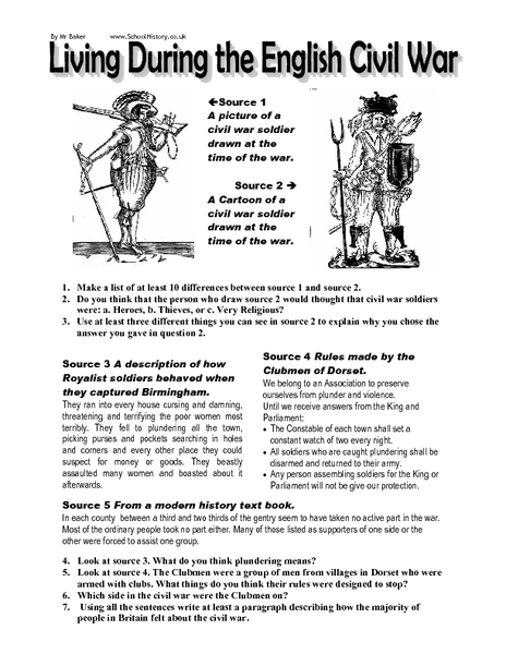Civil War Worksheets 5Th Grade Free Worksheets Library