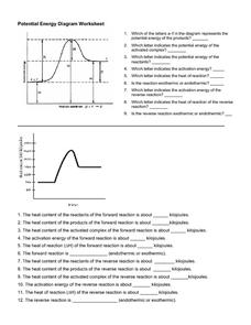 potential energy diagram worksheet key big 3 upgrade wiring for 10th higher ed