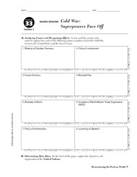 All Worksheets  Cold War Worksheets Pdf - Printable ...