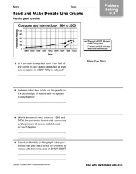 Double Line Graph Worksheets Free Worksheets Library ...