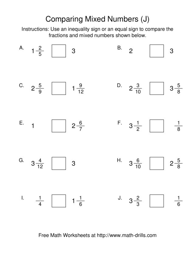 K5 Learning Equivalent Fractions Grade 4 Fractions ...