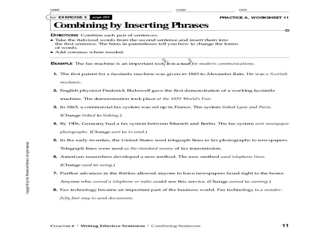 hight resolution of Sentence Fragments
