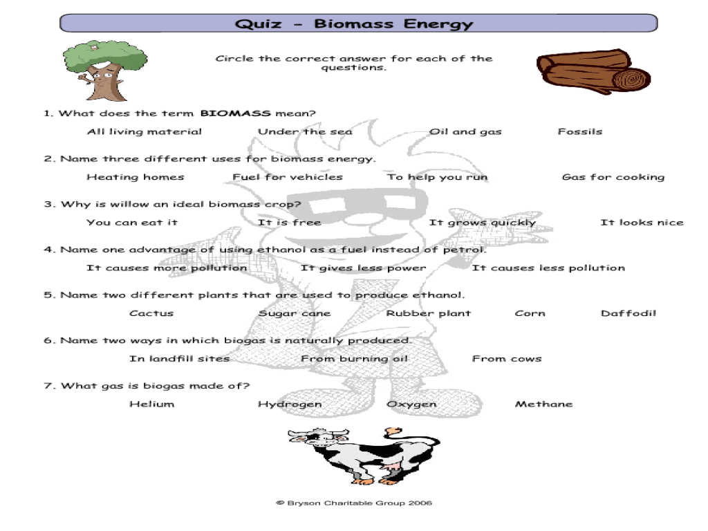 hight resolution of Mission 6: Renewable Energy Worksheet for 5th - 6th Grade   Lesson Planet