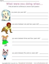 Writing In Complete Sentences Worksheet