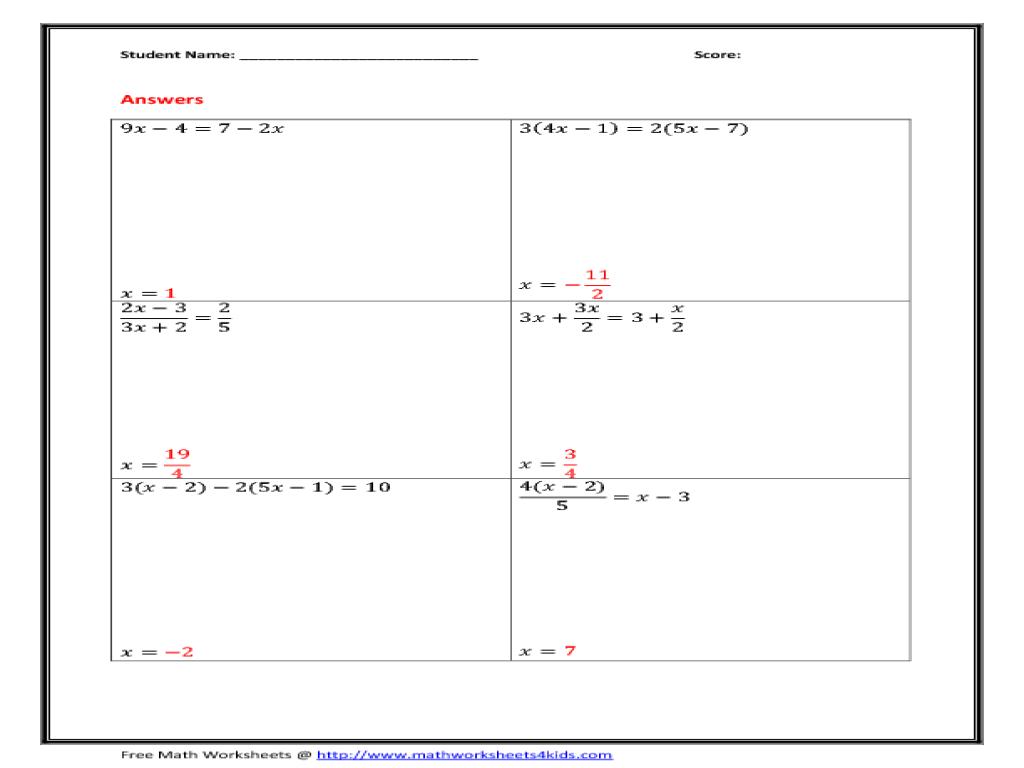 32 Solving Multi Step Equations Worksheet - Worksheet Resource Plans [ 768 x 1024 Pixel ]