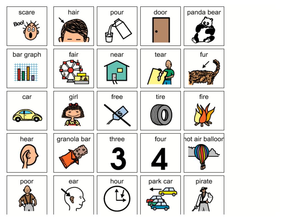 Speech: R Controlled Vowel Bingo Graphic Organizer for 1st - 3rd Grade    Lesson Planet [ 768 x 1024 Pixel ]