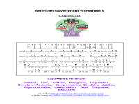 American Government Worksheet Answers