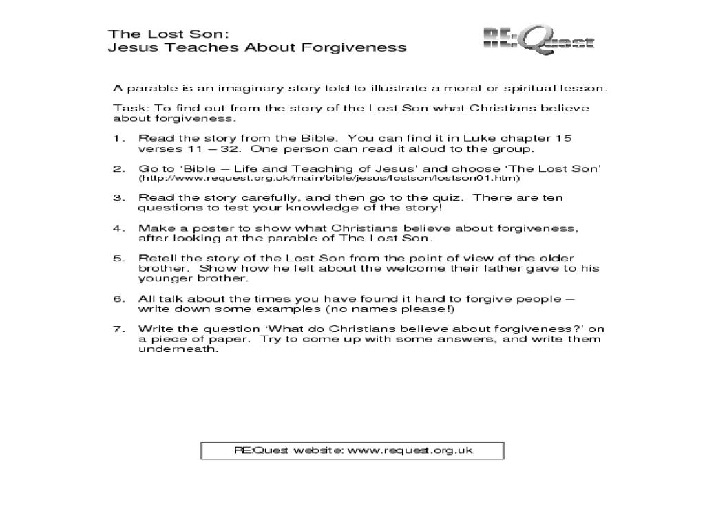Forgiveness Lesson Plans \u0026 Worksheets Reviewed by Teachers [ 768 x 1024 Pixel ]