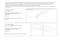Graphing Square Root and Other Radical Functions Worksheet ...