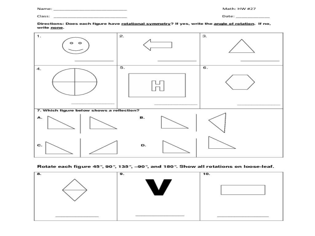 medium resolution of HW #27 Symmetry