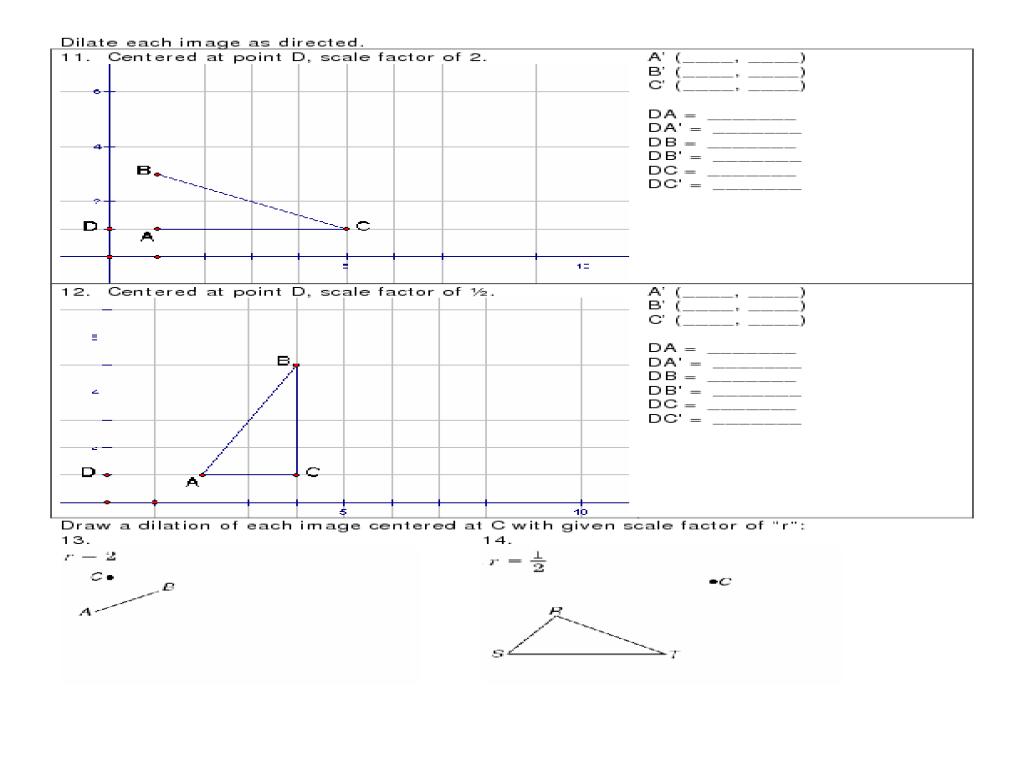 Geometry Worksheet 9.5: Rotational Symmetry Worksheet for 9th - 12th Grade    Lesson Planet [ 768 x 1024 Pixel ]