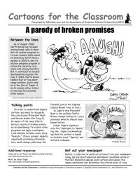 Political Cartoon Analysis Guide And Worksheet | cartoon ...
