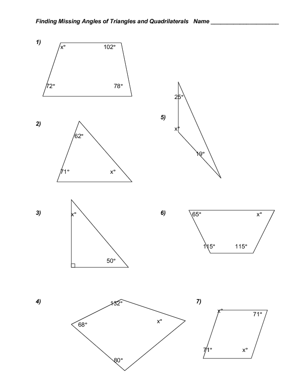 Area Of Triangles Resources