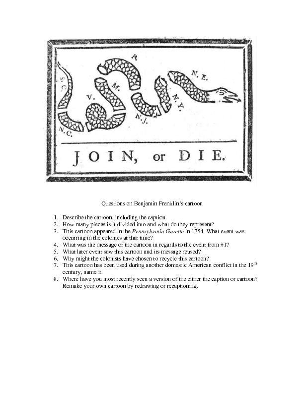 Political Cartoon Analysis Worksheet Answers – Benjamin Franklin Worksheets