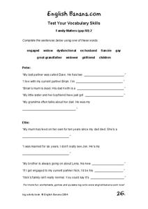 dysfunctional family roles worksheet