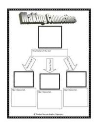 Making Connections Printables & Template for 3rd - 10th ...