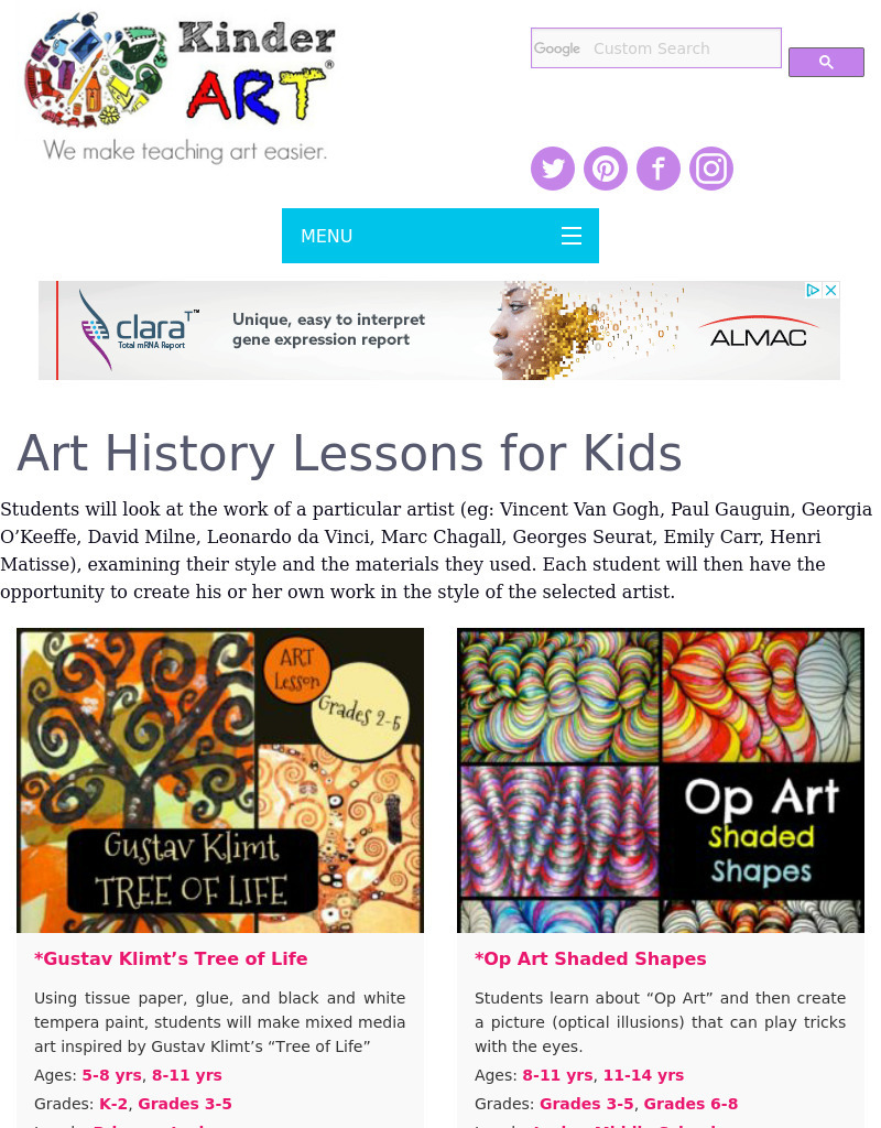 medium resolution of https://dubaikhalifas.com/art-appreciation-lesson-plan-for-kindergarten-6th-grade-lesson-planet/