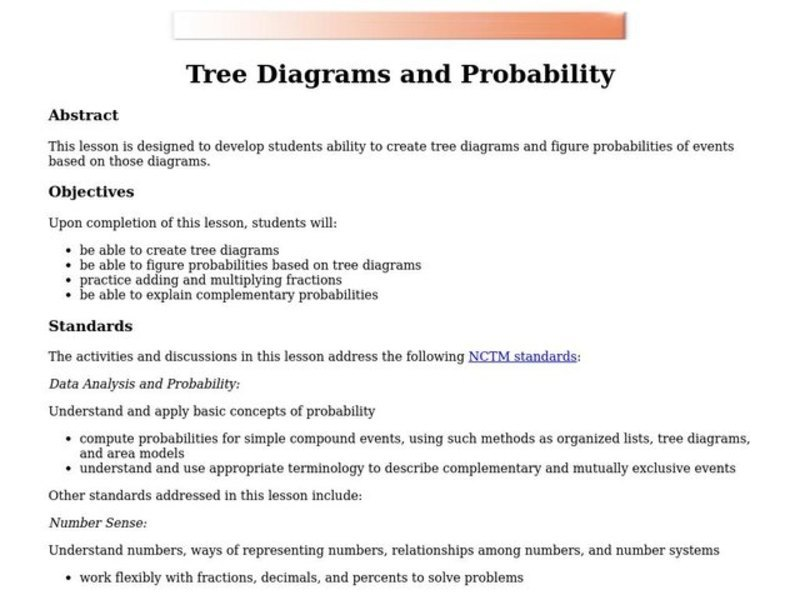 blank probability tree diagram template cell worksheet diagrams activities great installation of wiring and lesson plan for 7th 9th grade rh lessonplanet com math