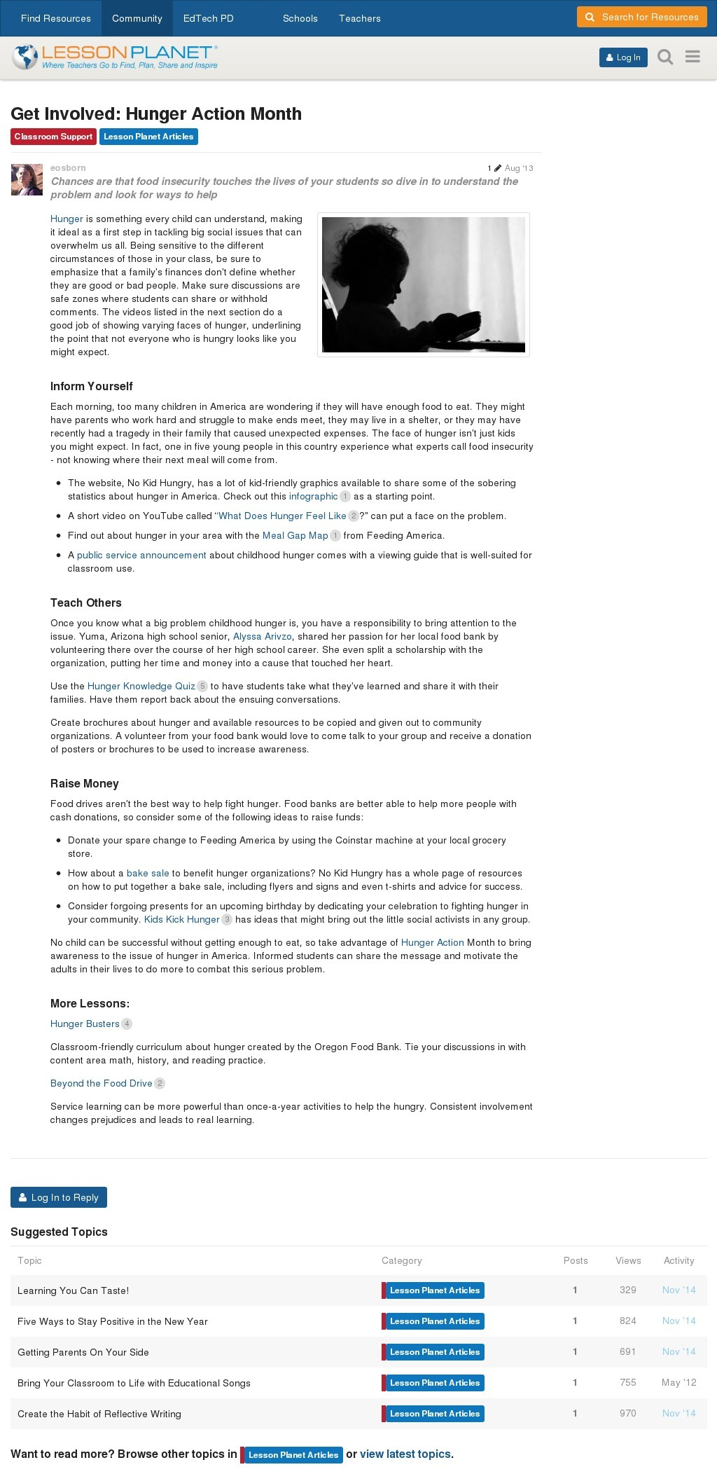 small resolution of Volunteering Lesson Plans \u0026 Worksheets   Lesson Planet