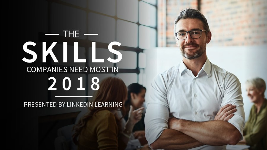 These are the skills companies need most in 2018. You can learn them for free